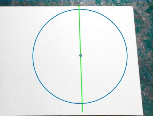カルトナージュの作り方_Drawing Hexagon/ 六角形の描き方_02 ©Atelier Z=Grace