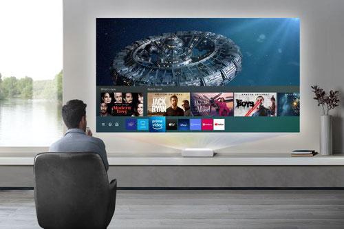 Samsung Laser TV LSPT7  beamer-freund.de