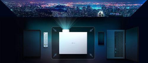LG BU50NST - ein Kabel, fünf Signale mit HDBaseT - beamer-freund