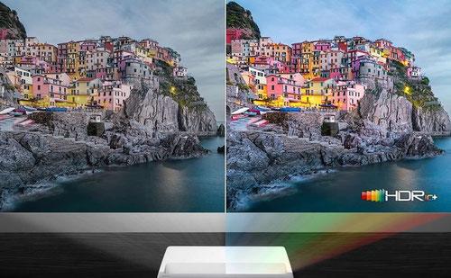 Samsung Laser TV LSP9 mit 4k HDR  beamer-freund.de