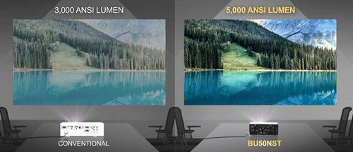 LG BU50NST 5000 Lumen für helle Räume beamer-freund