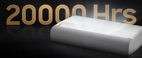 Samsung Laser TV langlebige Laserlichtquelle bis zu 20.000 Stunden  beamer-freund.de