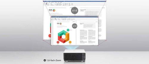 LG BU50NST - flexible Nutzung mit 1,6 fachem Zoom und LensShift - beamer-freund