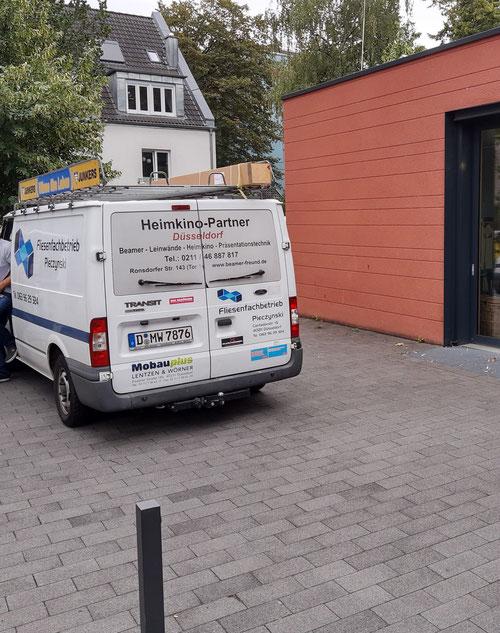 Leinwandmontage beamer freund in Düsseldorf