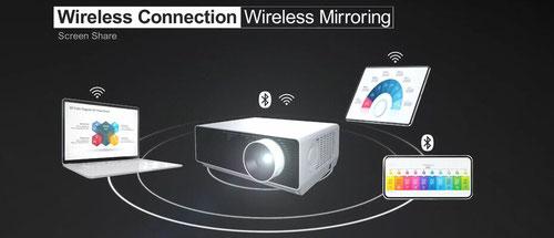 LG BU50NST - webOS + Spiegeln + Bluetooth Intelligente drahtlose Verbindung - beamer-freund