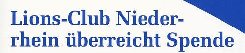 Bericht aus dem Freudenberg Echo ( Ausgabe 1 - 2013)