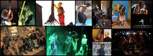 Pêle-mêle photos artistes festival IPA 2016