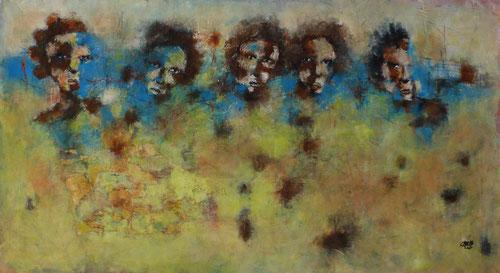 Résistance - 116x63 - Acrylique - 2015