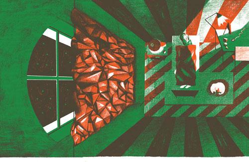 Jeong Hwa Min, Chicken or Beef, 100 Seiten, 2/2 Farben Risograph Druck, 2013