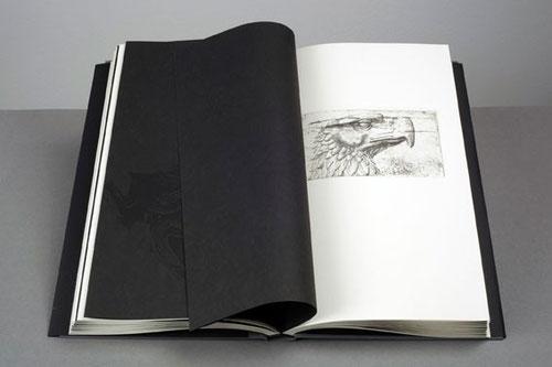 Karla Neumeyer Orlando, The Killer, Grafikbuch, Radierung, Holzschnitt und Lithografie, 2013