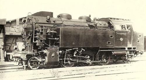 HBE-Lok Nummer 1, spätere 75 6676