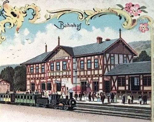 Bahnhof Elbingerode 1898