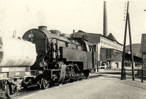 "Lok ""Büffel"" 1933 in Blankenburg West"