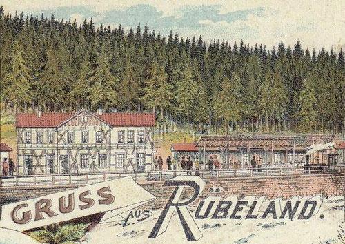 Alter Bahnhof Rübeland