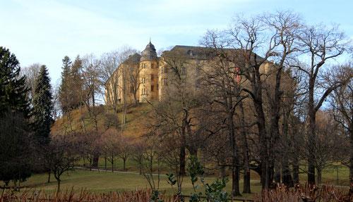 Die Sanierung des Großen Schlosses stellt eine Mammutaufgabe dar