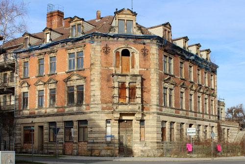 """Das abrissreife Hotel """"Kaiser Wilhelm"""" im Bahnhofsnähe steht unter Denkmalschutz"""