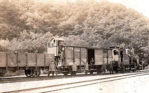 """Lok T3 """"Drei-Anne-Hohne"""" 1915 in Thale"""