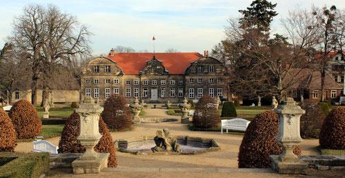 Das Kleine Schloß ist Sitz der Tourismus-Information und des Heimatmuseums