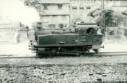 Lok 89 6601 (Hannibal) vom EHW Thale 1955 in Rübeland
