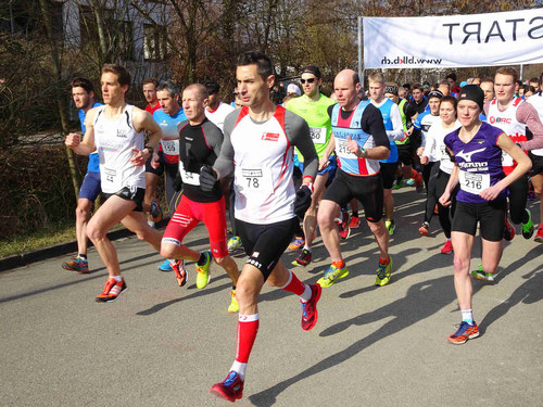 Der Start (Foto: Leimentaler Lauf)