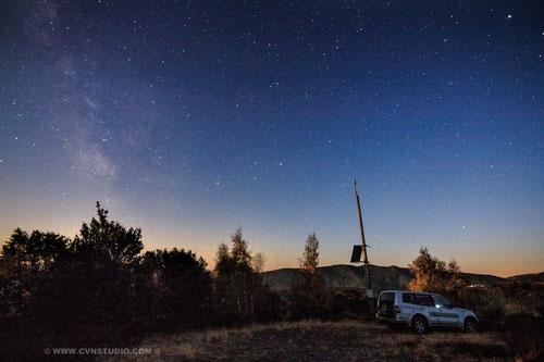 Voie lactée visible, un véritable atout pour l'astronomie