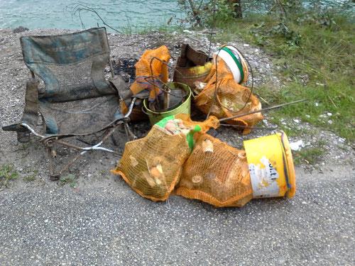 Mülltauchen