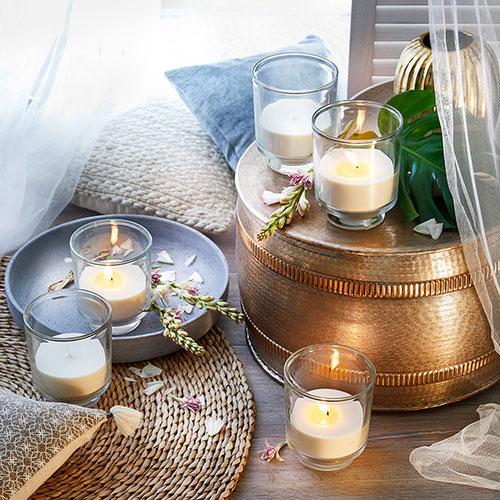 AVA Windlicht mit Citronella - von Engels Kerzen