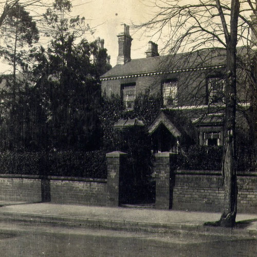14 Botteville Road, probably about 1890