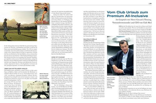 Diners Club Magazin, Ausgabe Juni 2013
