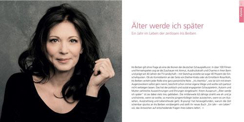 Iris Berben: Älter werde ich später