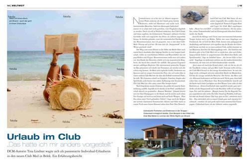 Individualtourist auf Club-Urlaub