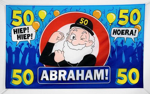 Gevelvlag 90x150 cm Abraham € 7,95