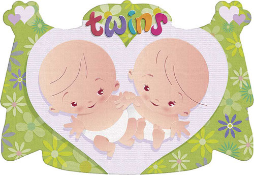 Kroonschild Twins € 2,00