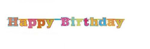 Letterslinger Glitter Happy Birthday € 3,75