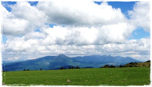 八ヶ岳や蓼科山が見渡せます