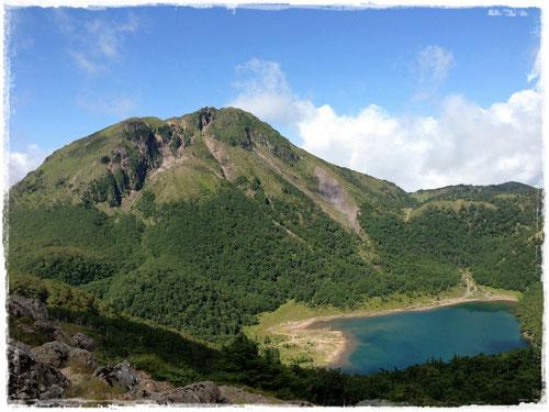奥白根山と五色沼