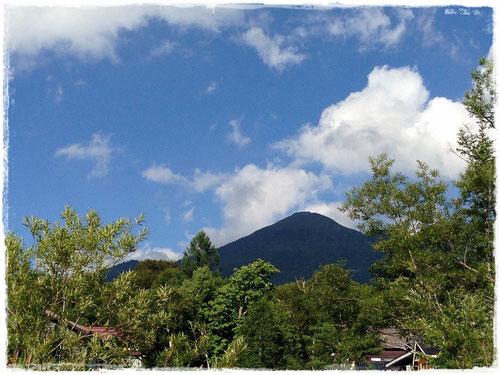 見晴から見る燧ヶ岳(前日)