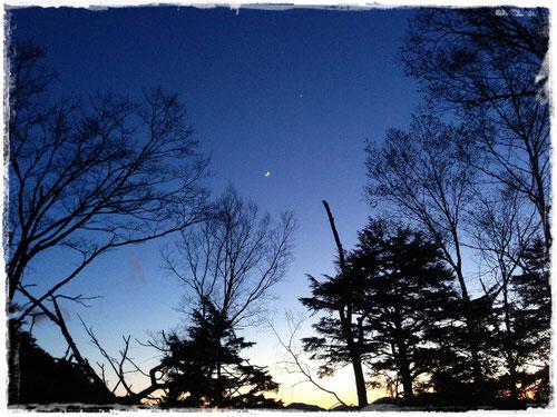 2015年5月22日 雲取山テント泊での夜空