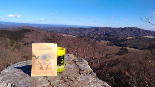 のんびりコーヒー on タイタニック岩