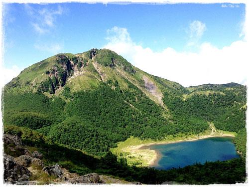 奥白根山と五色沼(夏)