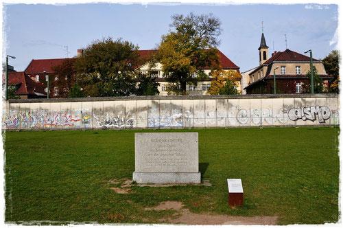 ベルリンの壁 @ウォールメモリアル
