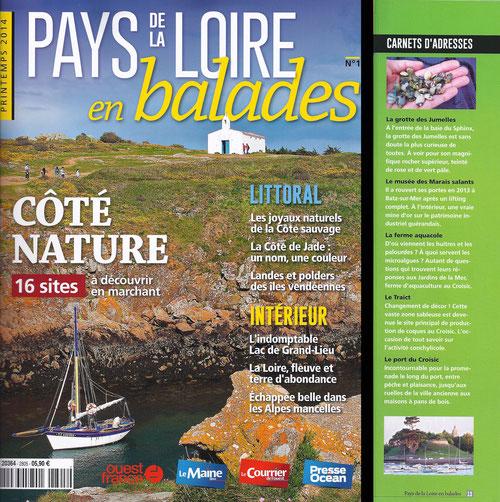 Pays de la Loire en balades, printemps 2014
