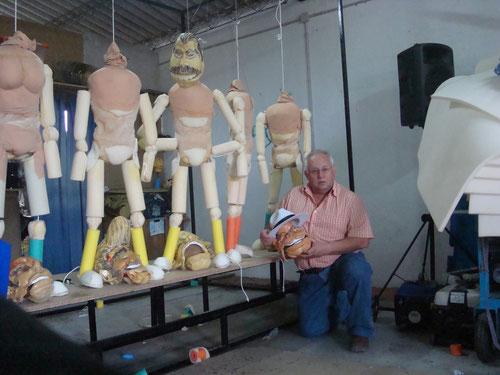 Manuel de Chaves en Fase de construcción