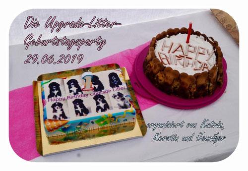 Die Upgrade-Litter-Geburtstagsparty am 29.06.2019 (organisiert von Katrin, Kerstin und Jennifer + Anhang)