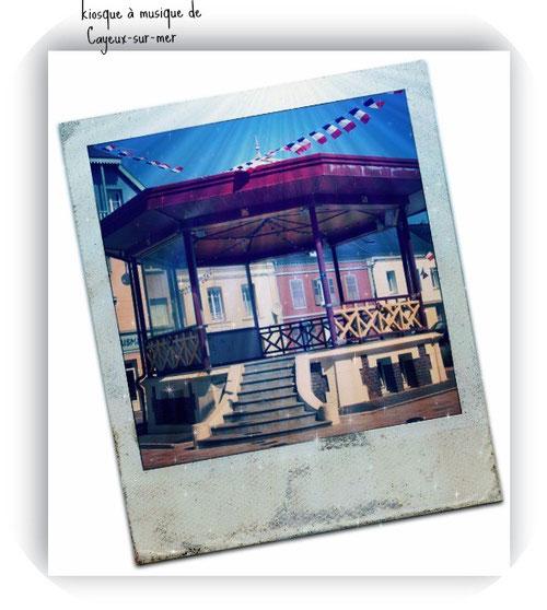 Kiosque à musique de CAyeux-sur-mer en Baie de Somme