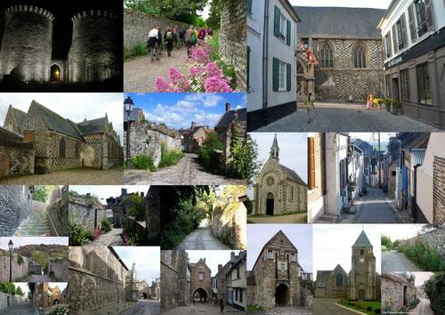 Différents quartiers de Saint-valery-sur-somme