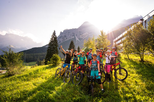 Guide MTB Women's Camp Lermoos - Photo credit: Maxi Dickerhoff