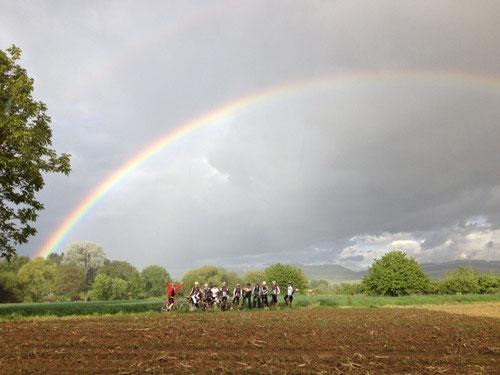 RSC unterm Regenbogen