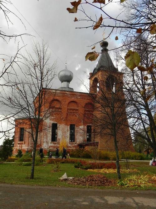 Храм Свято-Алексиевской Пустыни
