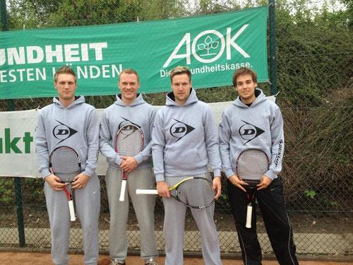 Die Mannschaft - Michael Kakoschke, David D., Sebastian Koch und Bastian Karallus